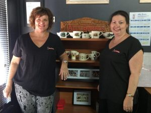 Cairns Barbers Ally and Trudy