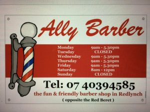 Opening Hours for Ally Barber Redlynch Cairns